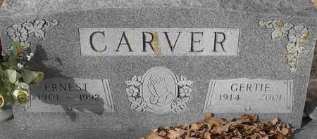 CARVER, ERNEST - Morgan County, Missouri | ERNEST CARVER - Missouri Gravestone Photos