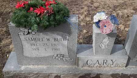 "CARY - MILITARY, SAMUEL W ""BUD"" - Morgan County, Missouri | SAMUEL W ""BUD"" CARY - MILITARY - Missouri Gravestone Photos"