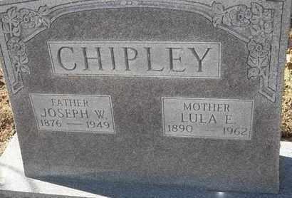 CHIPLEY, JOSEPH W - Morgan County, Missouri | JOSEPH W CHIPLEY - Missouri Gravestone Photos