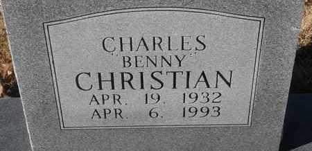 "CHRISTIAN, CHARLES ""BENNY"" - Morgan County, Missouri | CHARLES ""BENNY"" CHRISTIAN - Missouri Gravestone Photos"