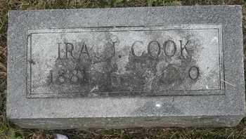 COOK, IRA J - Morgan County, Missouri | IRA J COOK - Missouri Gravestone Photos