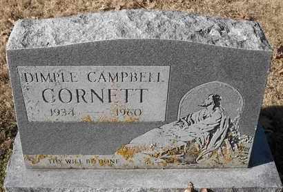 CAMPBELL CORNETT, DIMPLE - Morgan County, Missouri | DIMPLE CAMPBELL CORNETT - Missouri Gravestone Photos