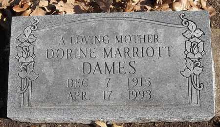 MARRIOTT DAMES, DORINE - Morgan County, Missouri | DORINE MARRIOTT DAMES - Missouri Gravestone Photos