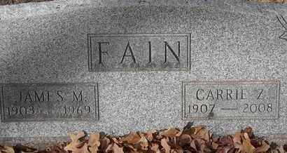 FAIN, CARRIE Z - Morgan County, Missouri | CARRIE Z FAIN - Missouri Gravestone Photos
