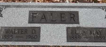 FALER, WALTER D - Morgan County, Missouri   WALTER D FALER - Missouri Gravestone Photos