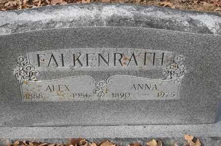 FALKENRATH, ANNA - Morgan County, Missouri | ANNA FALKENRATH - Missouri Gravestone Photos