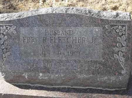FLETCHER, JR, FRED R - Morgan County, Missouri | FRED R FLETCHER, JR - Missouri Gravestone Photos