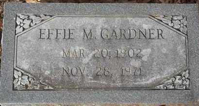 GARDNER, EFFIE M - Morgan County, Missouri | EFFIE M GARDNER - Missouri Gravestone Photos