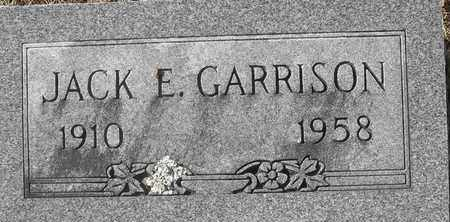 GARRISON, JACK E - Morgan County, Missouri   JACK E GARRISON - Missouri Gravestone Photos