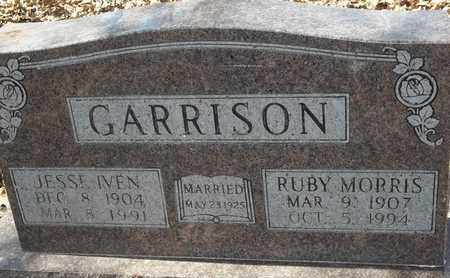 MORRIS GARRISON, RUBY - Morgan County, Missouri | RUBY MORRIS GARRISON - Missouri Gravestone Photos