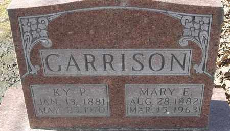GARRISON, MARY E - Morgan County, Missouri | MARY E GARRISON - Missouri Gravestone Photos