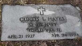 HAYES - MILITARY, CURTIS L - Morgan County, Missouri   CURTIS L HAYES - MILITARY - Missouri Gravestone Photos