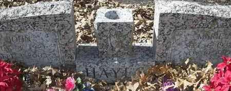 HAYES, JOHN - Morgan County, Missouri   JOHN HAYES - Missouri Gravestone Photos