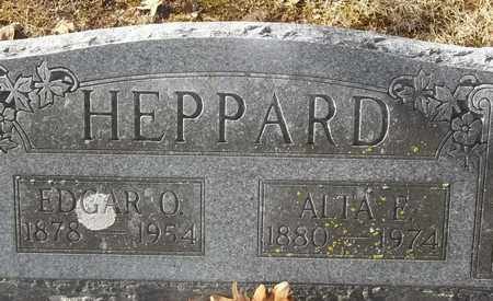 HEPPARD, EDGAR O - Morgan County, Missouri | EDGAR O HEPPARD - Missouri Gravestone Photos