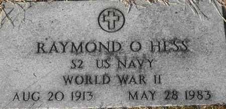 HESS, RAYMOND O VETERAN - Morgan County, Missouri | RAYMOND O VETERAN HESS - Missouri Gravestone Photos