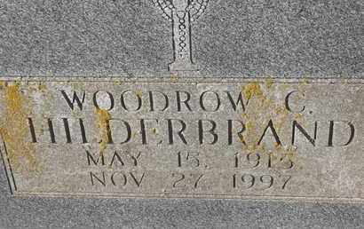 HILDERBRAND, WOODROW C - Morgan County, Missouri   WOODROW C HILDERBRAND - Missouri Gravestone Photos