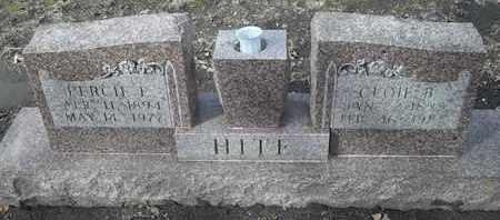 HITE, PERCEIE E - Morgan County, Missouri   PERCEIE E HITE - Missouri Gravestone Photos