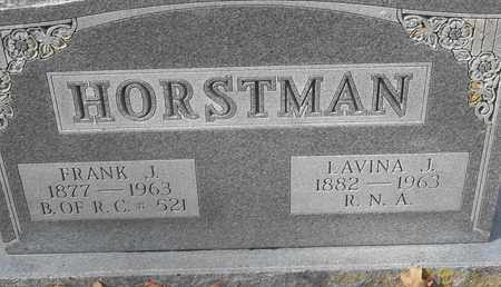 HORSTMAN, FRANK J - Morgan County, Missouri | FRANK J HORSTMAN - Missouri Gravestone Photos