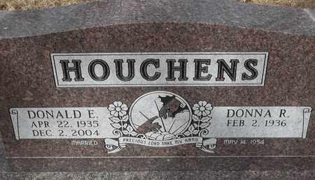 HOUCHENS, DONALD E - Morgan County, Missouri   DONALD E HOUCHENS - Missouri Gravestone Photos