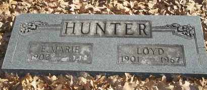 HUNTER, E MARIE - Morgan County, Missouri | E MARIE HUNTER - Missouri Gravestone Photos