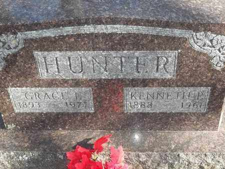 HUNTER, KENNETH P - Morgan County, Missouri | KENNETH P HUNTER - Missouri Gravestone Photos