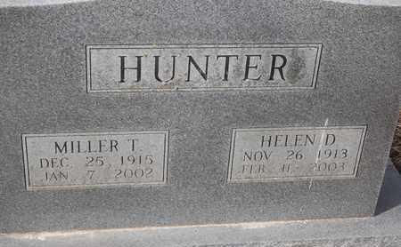 HUNTER, HELEN D - Morgan County, Missouri   HELEN D HUNTER - Missouri Gravestone Photos