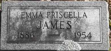 JAMES, EMMA PRISCELLA - Morgan County, Missouri | EMMA PRISCELLA JAMES - Missouri Gravestone Photos