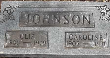 JOHNSON, CLIF - Morgan County, Missouri   CLIF JOHNSON - Missouri Gravestone Photos