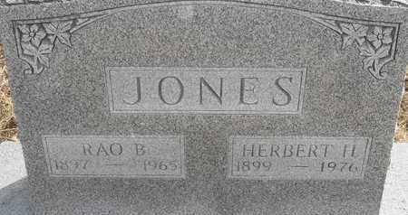 JONES, RAO B - Morgan County, Missouri | RAO B JONES - Missouri Gravestone Photos