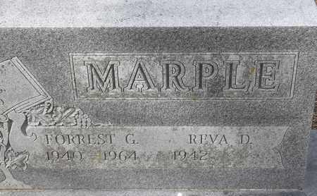 MARPLE, FORREST G - Morgan County, Missouri | FORREST G MARPLE - Missouri Gravestone Photos