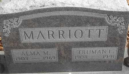 MARRIOTT, ALMA M - Morgan County, Missouri | ALMA M MARRIOTT - Missouri Gravestone Photos
