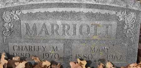 MARRIOTT, MARY - Morgan County, Missouri | MARY MARRIOTT - Missouri Gravestone Photos