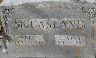 MCCASLAND, CLARA E - Morgan County, Missouri   CLARA E MCCASLAND - Missouri Gravestone Photos