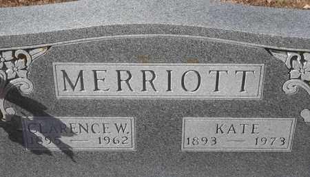 MERRIOTT, KATE - Morgan County, Missouri   KATE MERRIOTT - Missouri Gravestone Photos