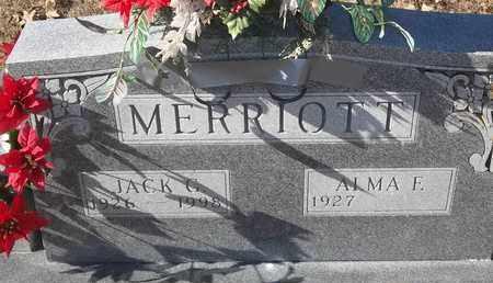 MERRIOTT, JACK G - Morgan County, Missouri | JACK G MERRIOTT - Missouri Gravestone Photos