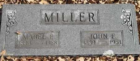 MILLER, MABEL E - Morgan County, Missouri   MABEL E MILLER - Missouri Gravestone Photos