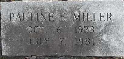 MILLER, PAULINE E - Morgan County, Missouri   PAULINE E MILLER - Missouri Gravestone Photos