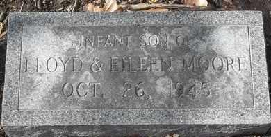 MOORE, INFANT SON - Morgan County, Missouri | INFANT SON MOORE - Missouri Gravestone Photos