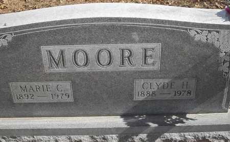 MOORE, MARIE C - Morgan County, Missouri | MARIE C MOORE - Missouri Gravestone Photos