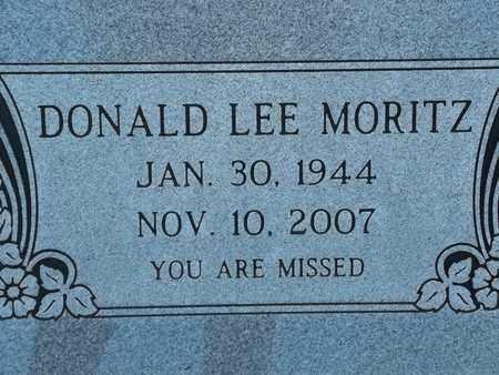 MORITZ, DONALD LEE - Morgan County, Missouri | DONALD LEE MORITZ - Missouri Gravestone Photos