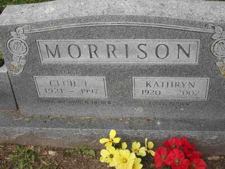 MORRISON, CECIL T - Morgan County, Missouri | CECIL T MORRISON - Missouri Gravestone Photos