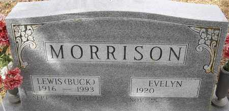 MORRISON, LEWIS (BUCK) - Morgan County, Missouri | LEWIS (BUCK) MORRISON - Missouri Gravestone Photos