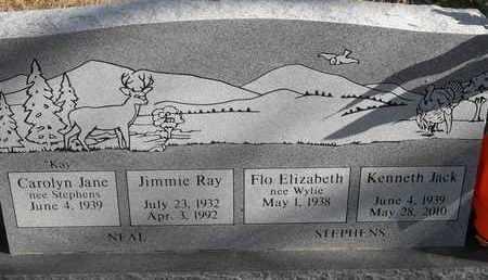 NEAL, JIMMIE RAY - Morgan County, Missouri | JIMMIE RAY NEAL - Missouri Gravestone Photos
