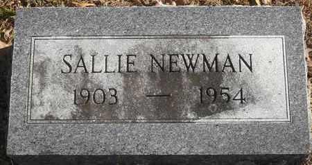 NEWMAN, SALLIE - Morgan County, Missouri | SALLIE NEWMAN - Missouri Gravestone Photos