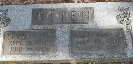 OTTEN, JOSEPHINE A - Morgan County, Missouri | JOSEPHINE A OTTEN - Missouri Gravestone Photos