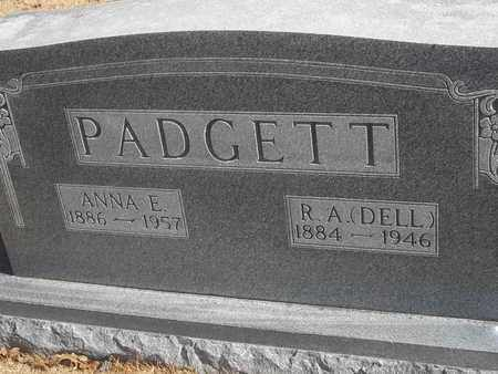 PADGETT, R A (DELL) - Morgan County, Missouri | R A (DELL) PADGETT - Missouri Gravestone Photos