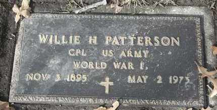 PATTERSON - MILITARY, WILLIE H - Morgan County, Missouri | WILLIE H PATTERSON - MILITARY - Missouri Gravestone Photos