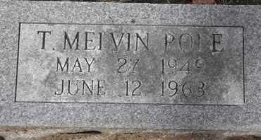 POPE, T MELVIN - Morgan County, Missouri   T MELVIN POPE - Missouri Gravestone Photos
