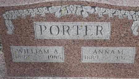 PORTER, WILLIAM A - Morgan County, Missouri | WILLIAM A PORTER - Missouri Gravestone Photos