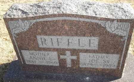 RIFFLE, ANNIE E - Morgan County, Missouri | ANNIE E RIFFLE - Missouri Gravestone Photos